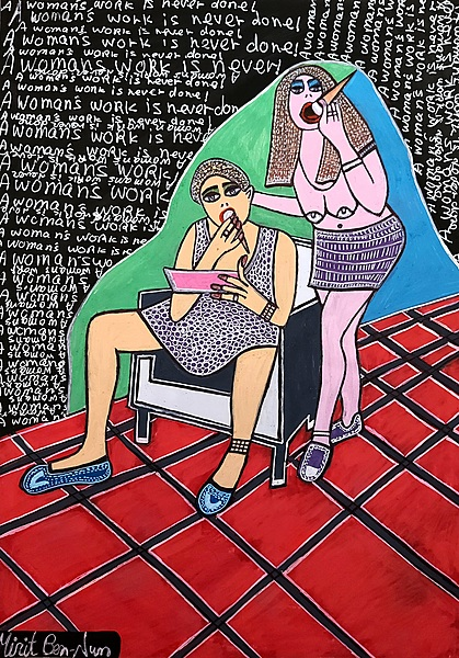Feminist images by Mirit Ben-Nun