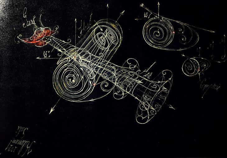 Flute vortex