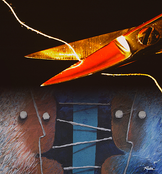 Disconnection 2 -Digital Artwork - Ridha H