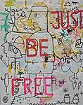 JBF, 2021, 100 x 80 cm, canvas