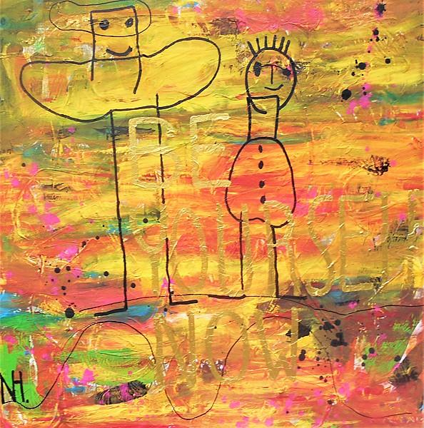 BYN, 2021, 100 x 100 cm, canvas