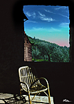 Summer day in Perugia - Digital Artwork - Ridha H