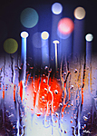 Red light - Digital art,work by Ridha H