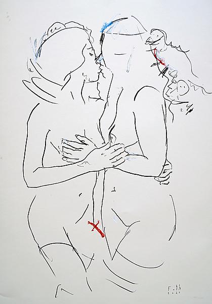 Der Kuss, September