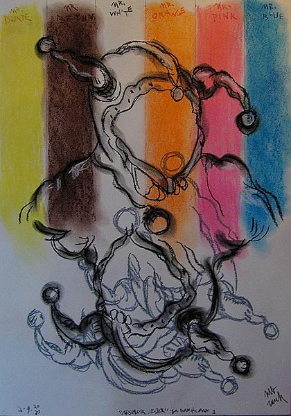 Triptych ... Reservior Bat Jester