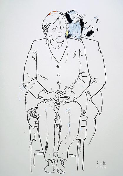 Merkel, letzte Auftritte