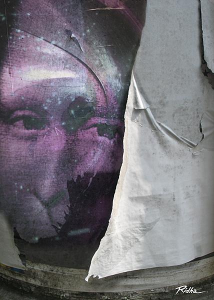 Old Torn Posters -  Digital Artwork - Ridha H