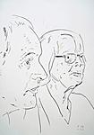 Bruder und Mutter des Künstlers