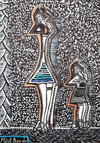 Art collectors modern paintings Mirit Ben-Nun