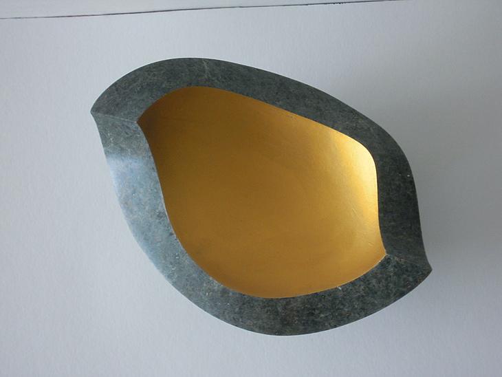Schale, Avokado II, 1