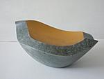 Schale, Avokado II, 2