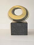 3-fach Spirale, green gold, 1