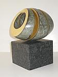 3-fach Spirale, green gold, 2