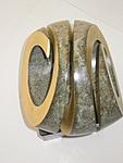 3-fach Spirale, green gold, 3