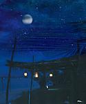 Beach at Night - by Ridha H