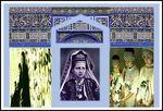 Palestine girl postcard
