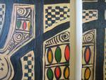 detail of patterns