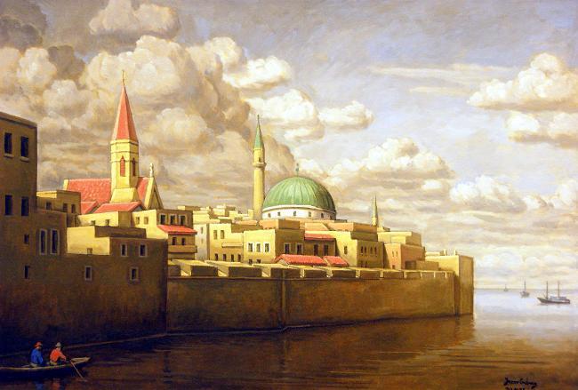 old Acra city