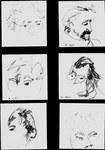 quick portraits