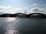 IMG_3099 - Cloudy Sky Over The Freihafenbrücke