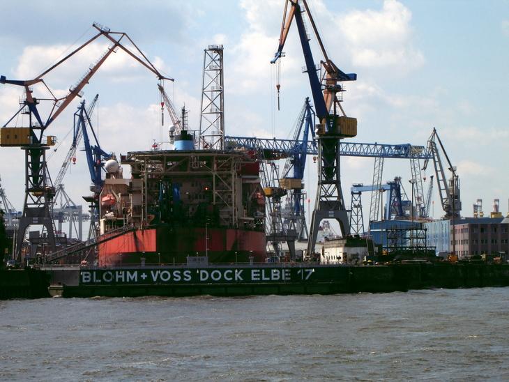 IMG_4773 - Fish & Ships -  Ballet Of The Cranes At Dock 17