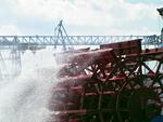 IMG_4943 - Fish & Ships - Paddle Wheel Doing It`s Work