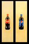 Coke Versus Pepsi Diptych