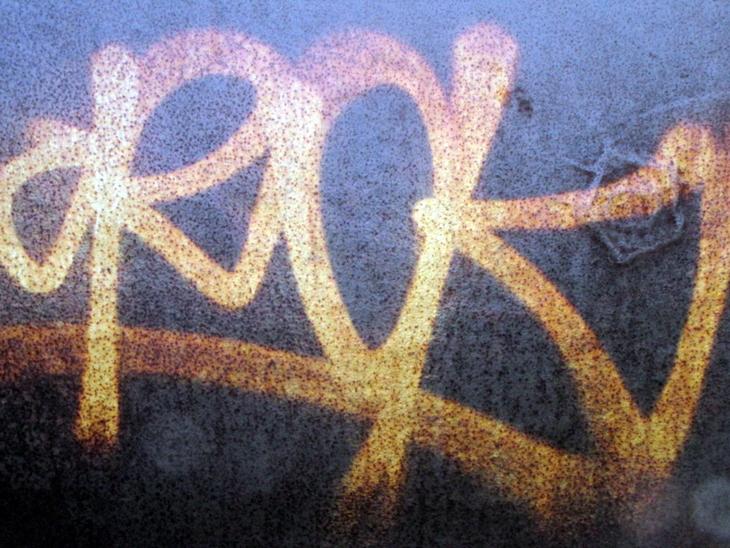 IMG_5419 - Wildstyle - Rok - Spraycanart On Steel