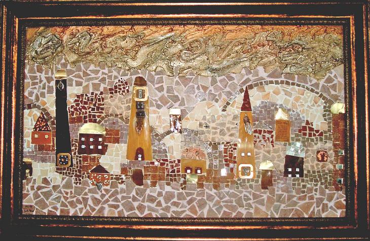 Divine and material Jerusalem