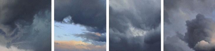 Vier Himmel