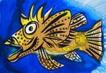 Weirdfish startled