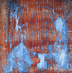 Wood, Brown + Blue