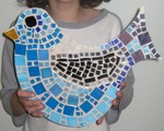 Mosaic Blue Bird - School Holiday Program