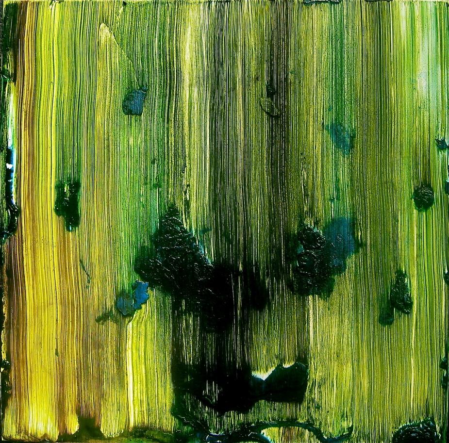 Wood Black, Green, Gold