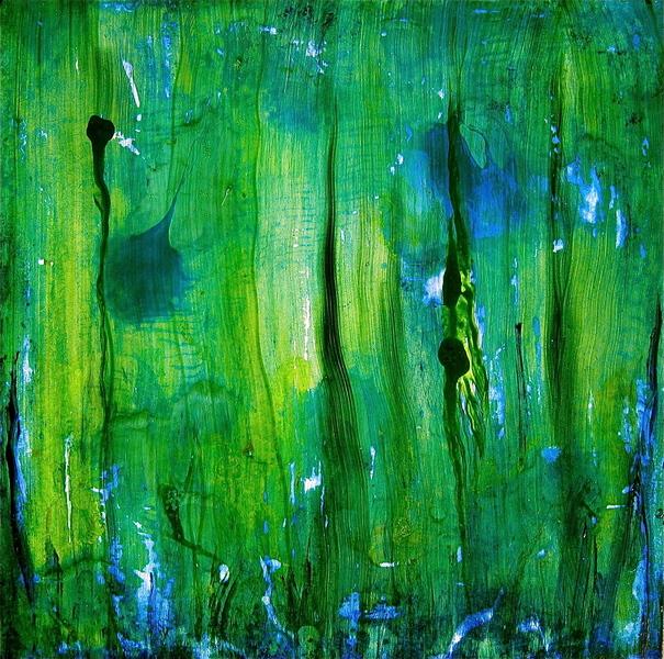 Water Green, Blue