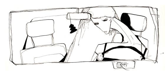 Woman at the Wheel #2