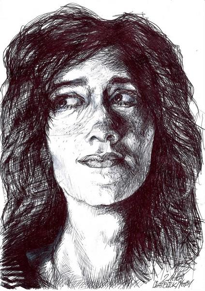 portrait of friend