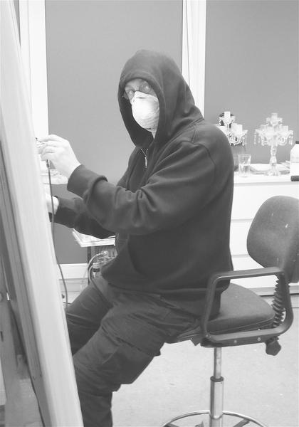 J. H. at work