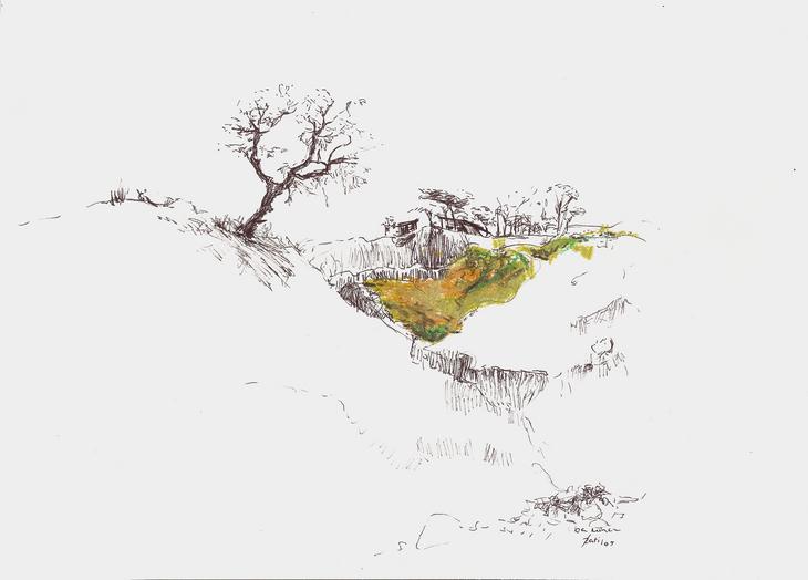 Arba Minch, unter den Bergen
