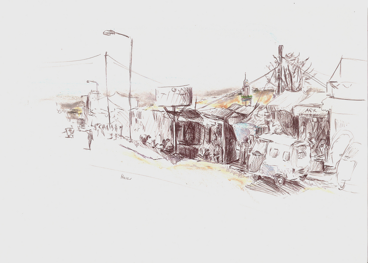 Harar, Straßenzug