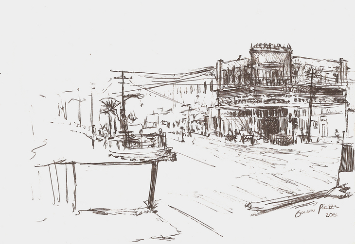 Gondar, Piazza