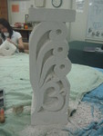 Hebel Totem with Hom symbol
