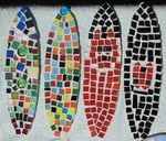 Mosaic Surfboards made on School Holiday Program