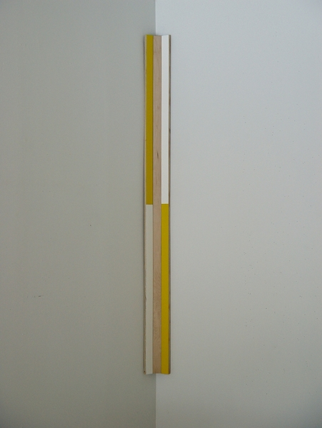 Paintings for Corners (yellow)