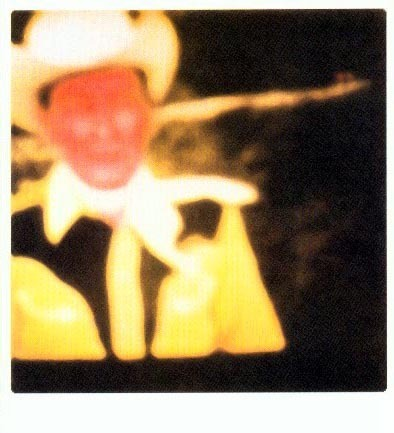 Blue Cowboy (yellow version)