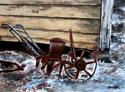 old_farm_plow_painting