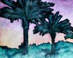 twin-palms-watercolor