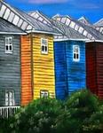 beach-houses-tropical-art