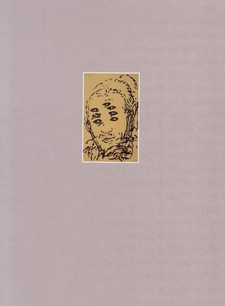 Catalog, SchönWahnSinnig 2007  back cover w/ drawing by JT
