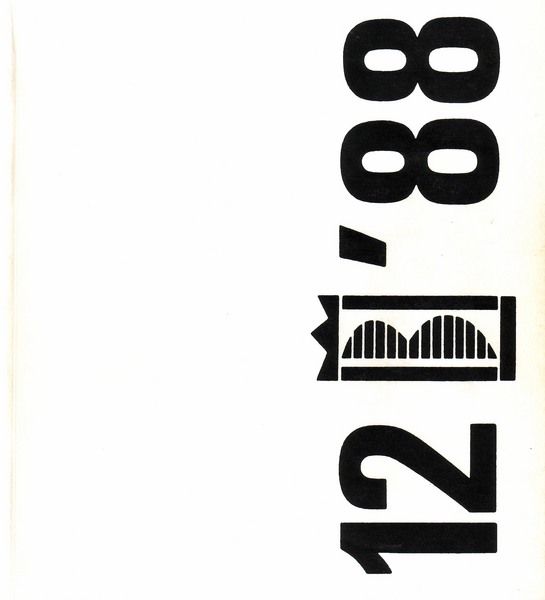 Catalog, 12th International Graphic Biennale Cracow Poland 1988